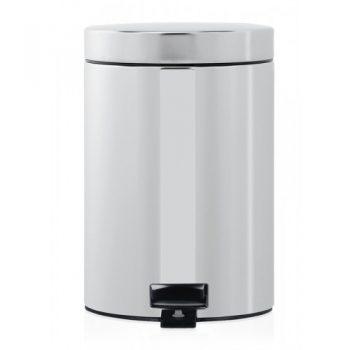 Brabantia-pedal-bin-3-litros-plastic-bucket-acero-brillante