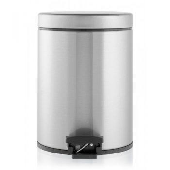Brabantia-pedal-papelera-5-litros-plastic-bucket-acero-mate