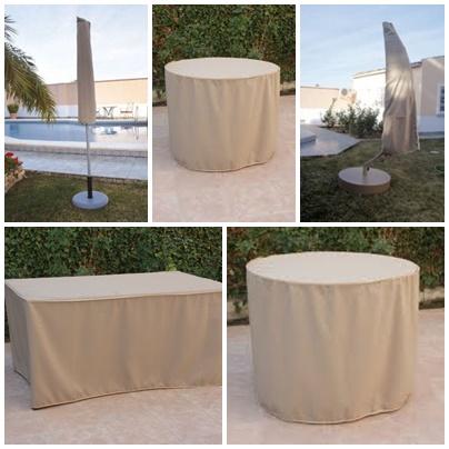 Fundas para proteger tus muebles y cojines de exterior - Cojines muebles exterior ...